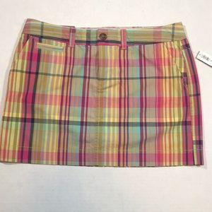NWT Old Navy Plaid Mini Skirt